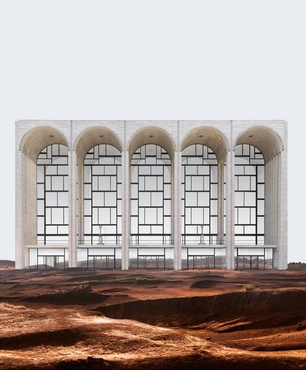 O Metropolitan Opera é uma construção emblemática de Nova York, construída em 1966 e desenhado por Wallace Harrison (Foto: Anton Repponen)