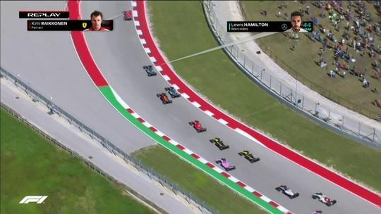 Hamilton reconhece erro na estratégia, enquanto Vettel diz que poderia ter vencido nos EUA