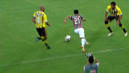 Os gols de Fluminense 1 x 1 Volta Redonda pelo Campeonato Carioca 2019