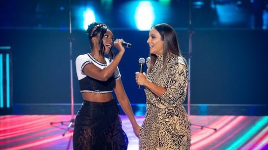 Ivete Sangalo e IZA dão um show em musical na segunda noite de Batalhas