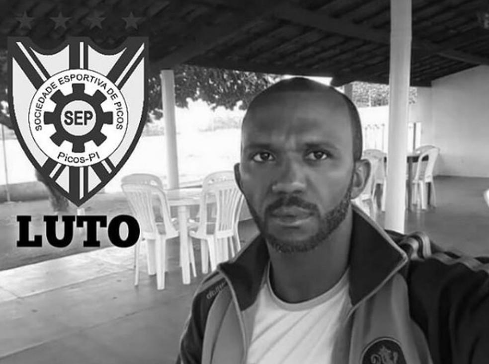 Ex-jogador do Picos vítima de acidente na noite desse domingo (1°) — Foto: Divulgação /SEP