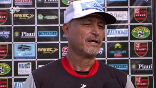 Com treino rápido, Paulo Júnior define substituto de Jhonata, e Flamengo-PI embarca para Piripiri