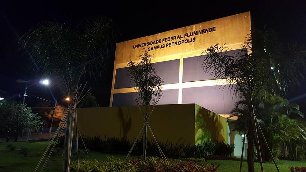 Campus da UFF em Petrópolis — Foto: Divulgação/UFF