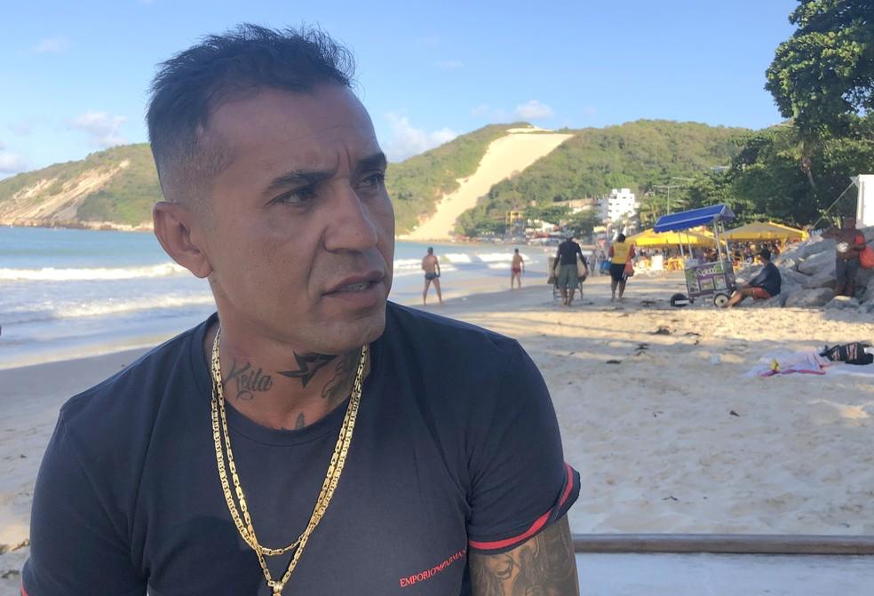 Matuzalém falou sobre a carreira e não escondeu a frustração de não ter atuado pela seleção principal — Foto: Augusto Gomes/GloboEsporte.com