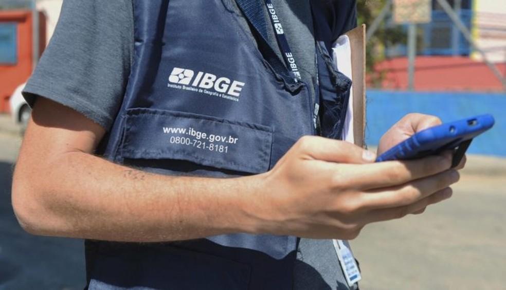 Vagas são para agente censitário municipal, agente censitário supervisor e recenseador — Foto: Divulgação