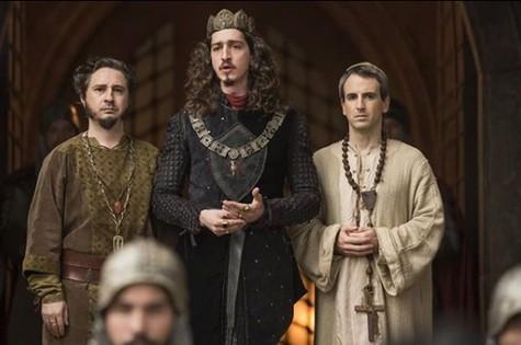 Cena de 'Deus salve o rei' (Foto: Reprodução)