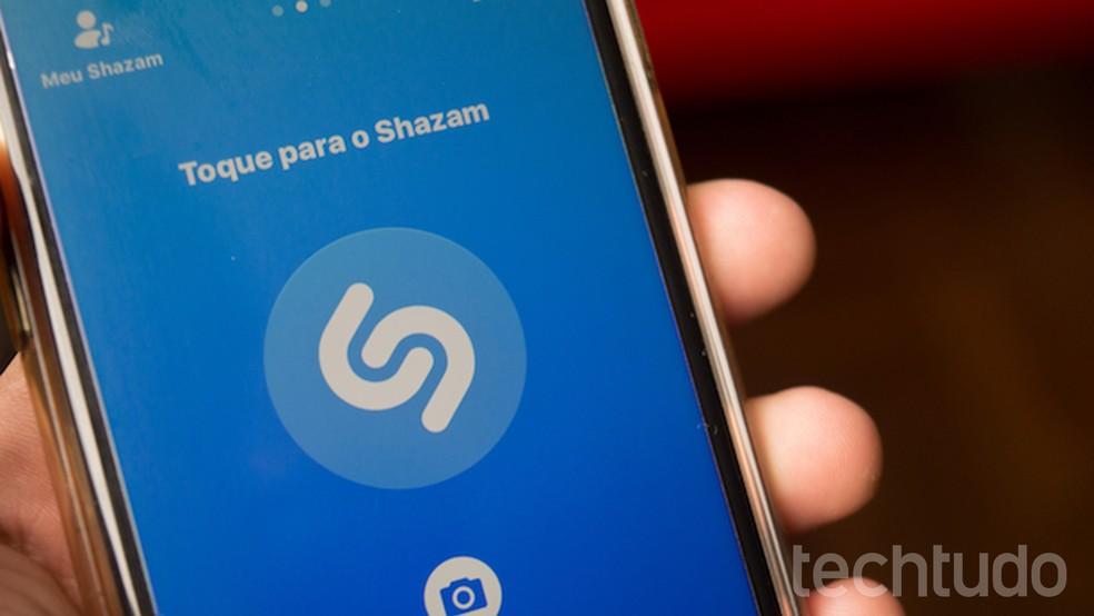 Shazam não terá mais anuncios após aquisição da Apple — Foto: Marvin Costa/TechTudo