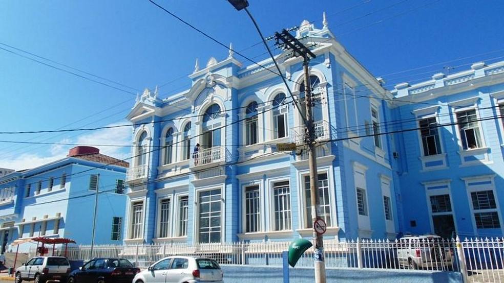 Hospital NSC, em Pará de Minas (Foto: Prefeitura Pará de Minas/Divulgação)