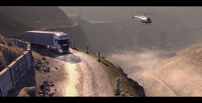 Scania Truck Driving Simulator (Foto: Divulgação)