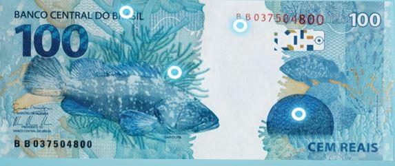 Mais que dinheiro: cédulas de Real contribuem na divulgação da fauna