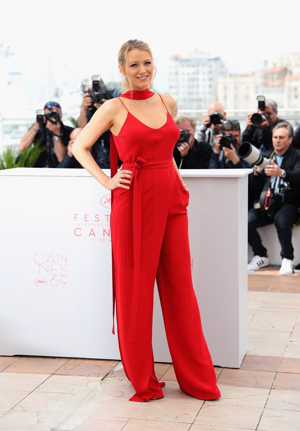 Blake Lively no Festival de Cannes no dia 11 de maio (Foto: Getty Images)