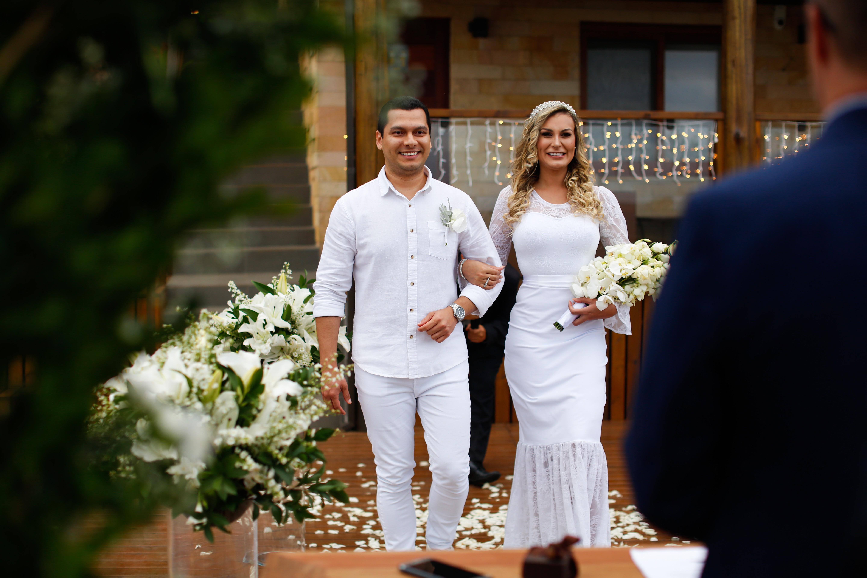 Casamento de Andressa Urach e Thiago Lopes (Foto: Bruno Dias)
