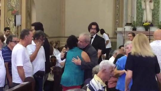 Missa de 7º dia de dona Marisa Letícia reúne familiares e amigos da ex-primeira-dama no ABC