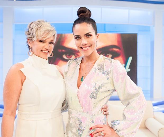 Andréa Nóbrega e Daniela Albuquerque (Foto: Andrea Dallevo/RedeTV!)