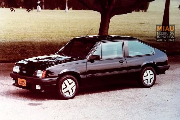 Assim como o Silver Monza era todo em prata, o Black Monza tinha todos os detalhes em preto  (Foto: IGM/MIAU)