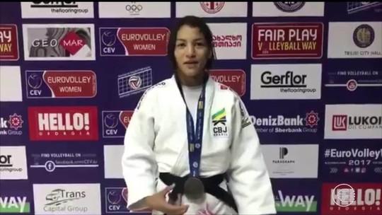 Com bronze na Geórgia, Sarah volta ao pódio internacional depois de 9 meses
