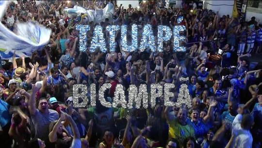 'De novo foi muito sofrido, foi na última nota, no último quesito', diz presidente da Tatuapé após título