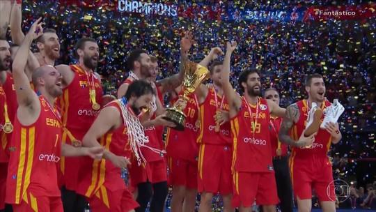 Espanha conquista o Mundial Masculino de Basquete, na China