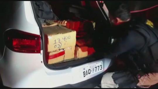PRF apreende quase meia tonelada de maconha após perseguição em rodovia de SP