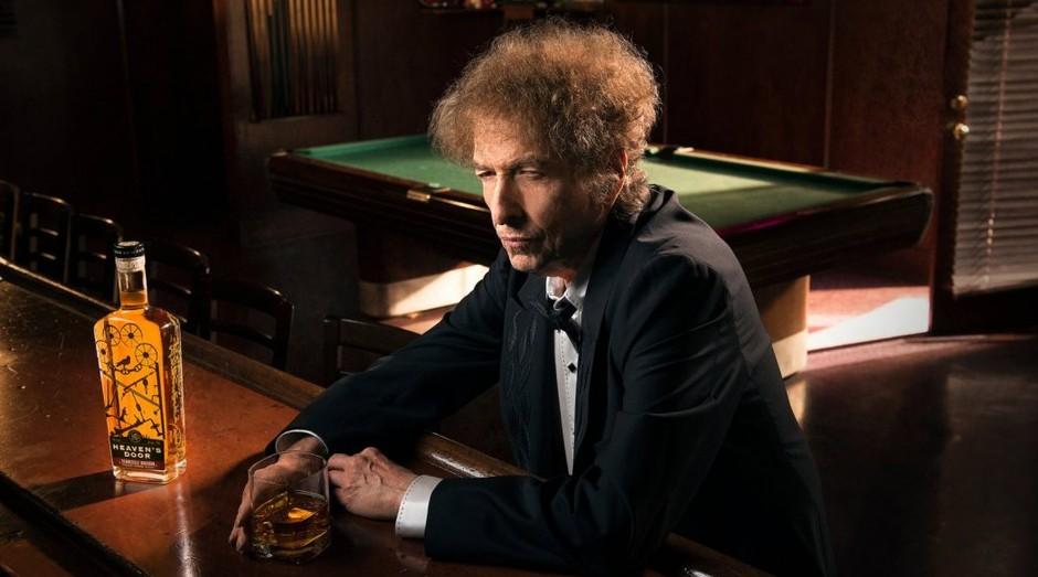 Bob Dylan entrou no mundo do uísque com a Heaven's Door (Foto: Divulgação)