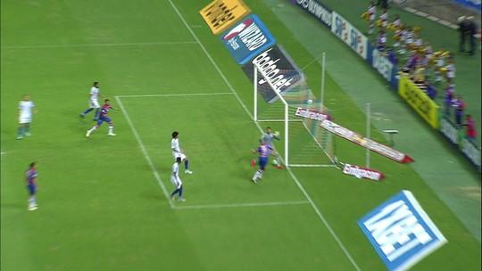 Tiki-taka do Fortaleza: time mostra troca de passes até gol de Wellington Paulista contra Avaí