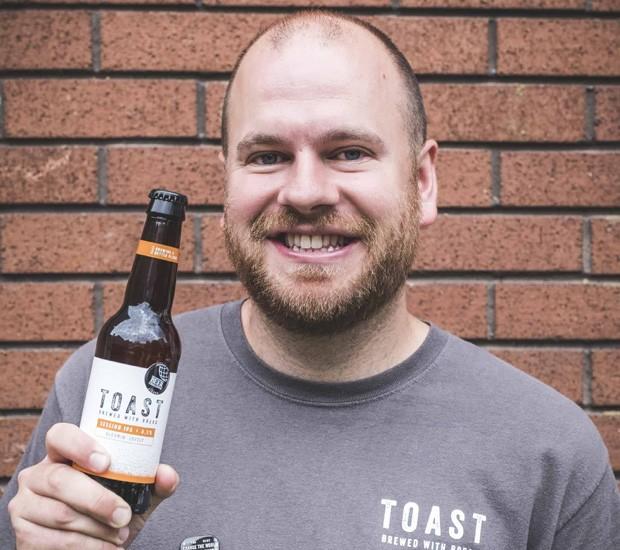 Rob Wilson, cofundador da Toast Ale (Foto: Divulgação)