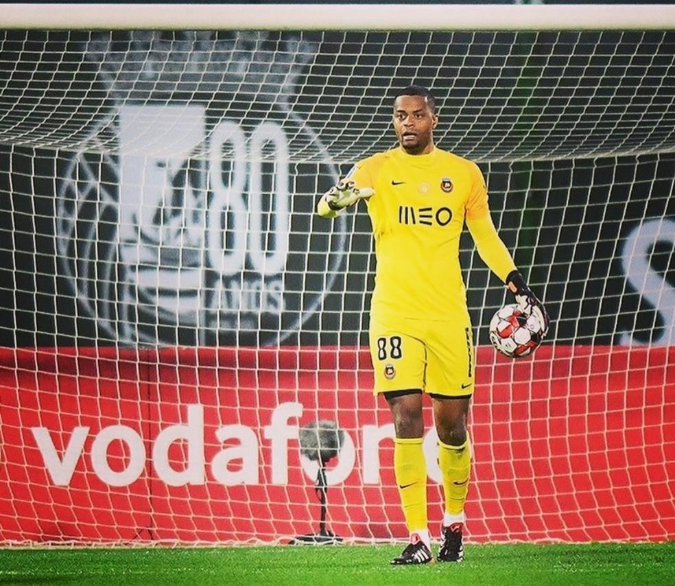 Paulo Vitor, goleiro do Rio Ave — Foto: Divulgação/Rio Ave