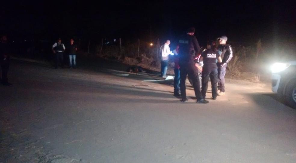 Segundo o pai da vítima, o filho não tinha envolvimento com o tráfico de drogas.  — Foto: Ricardo Mota/TV Diário