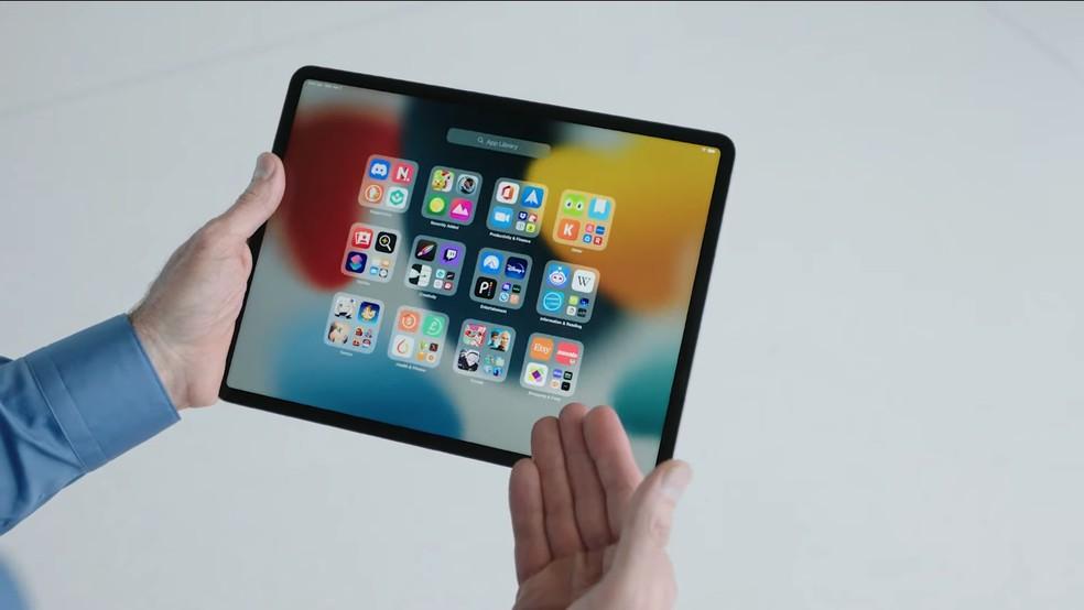 iPadOS 15: App Library chega a tablets depois de um ano — Foto: Reprodução/Apple