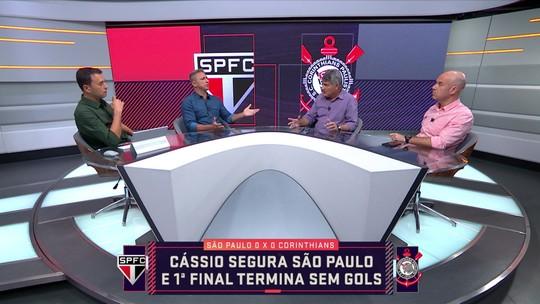 """Seleção SporTV analisa desempenho do Corinthians: """"Pobre de ideia"""", diz Rizek"""