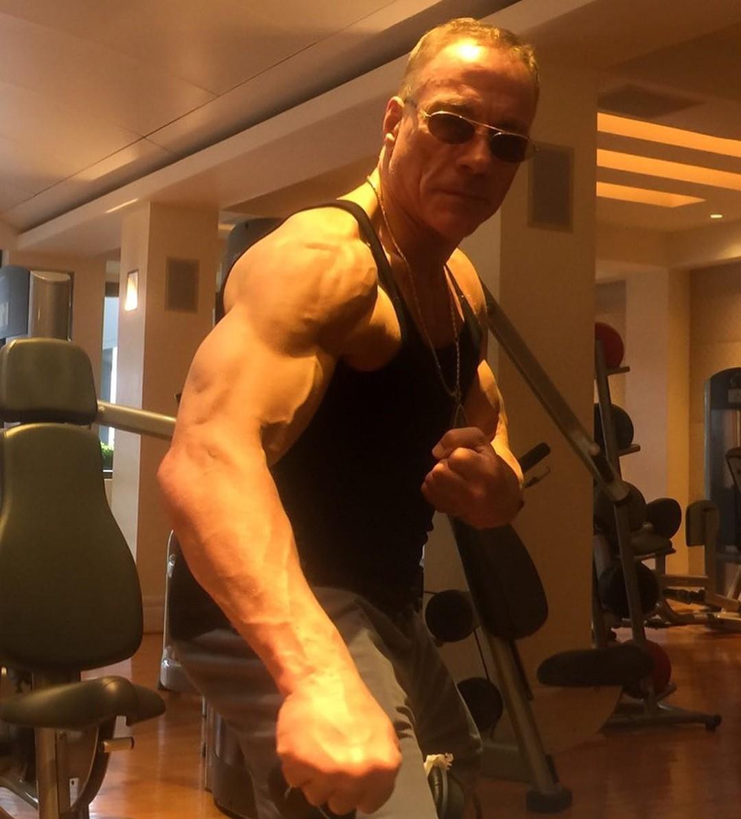 Jean-Claude Van-Damme aos 58, saradaço (Foto: Reprodução/Instagram)