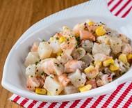 Ceviche de camarões e peixe branco: receita para refrescar