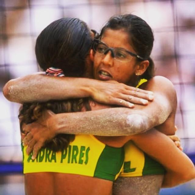 Jackie Silva e Sandra Pires (Foto: Arquivo pessoal)