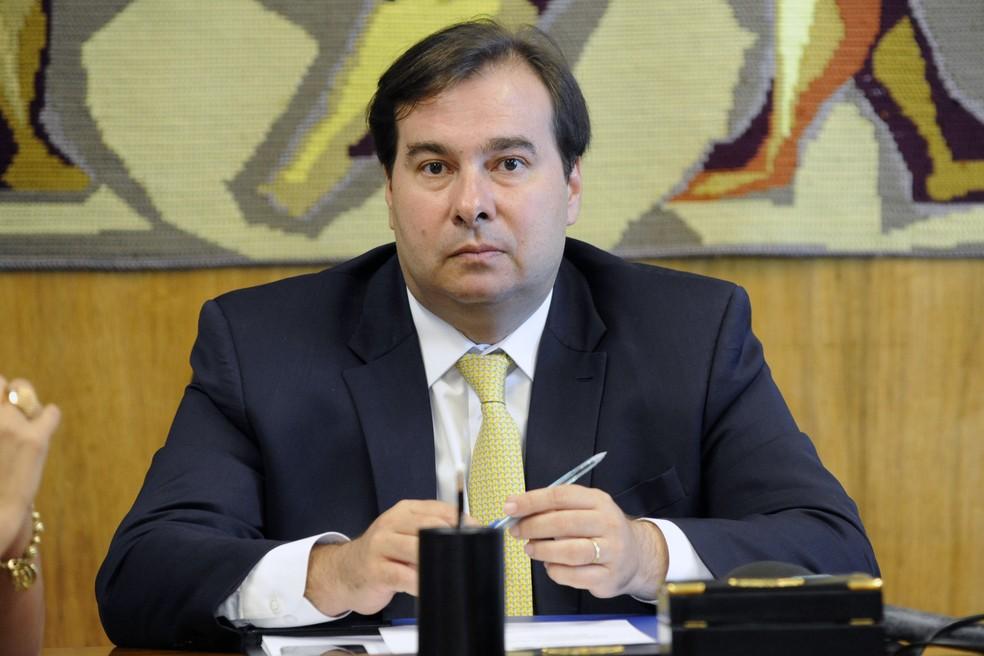 O presidente da Câmara dos Deputados, Rodrigo Maia (DEM-RJ) — Foto: Luis Macedo/Câmara dos Deputados