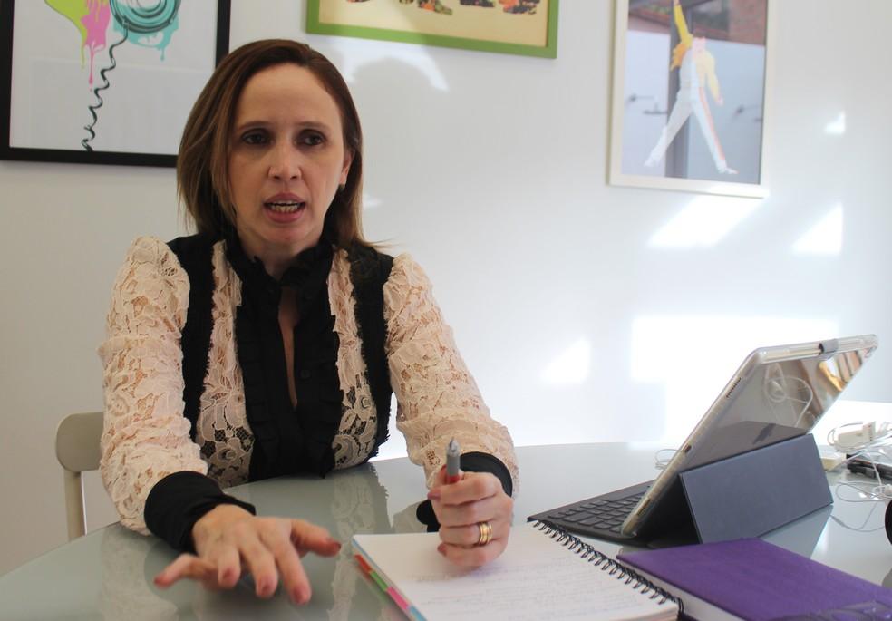 Superintendente de parcerias público-privadas do Piauí, Viviane Moura (Foto: Lucas Marreiros / G1)