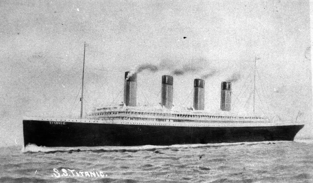 Navio Titanic, que afundou em 1912 (Foto: Flickr/State Library of Queensland/Creative Commons)