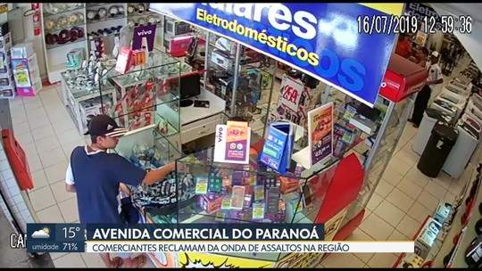 Comerciantes reclamam de assaltos no Paranoá