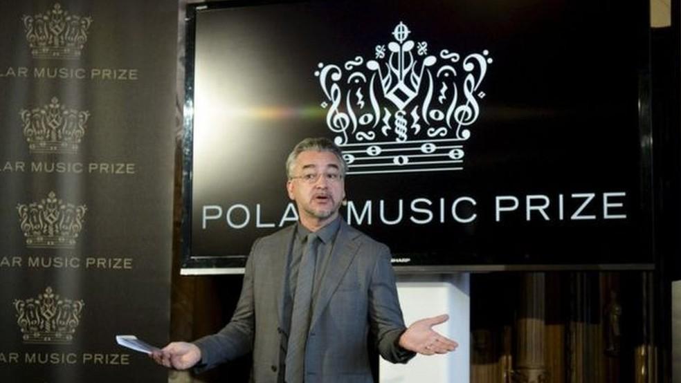 Os prêmios do Polar Music Prize são entregues anualmente em Estocolmo, na Suécia (Foto: AFP)