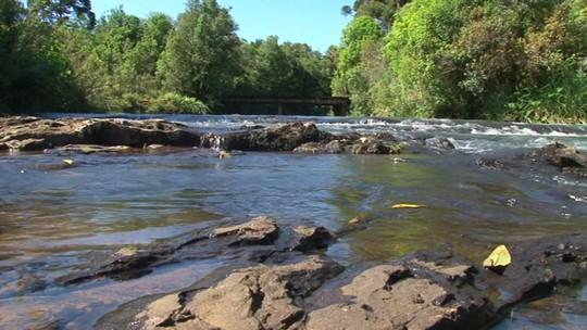 'Meu Paraná' conheceu a maior cachoeira do sul do Brasil