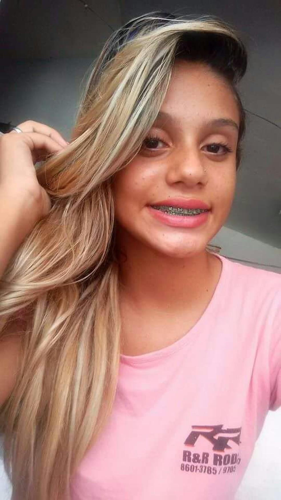 Maria Raquel Silva Almeida tinha 15 anos quando foi assassinada — Foto: PM/Divulgação