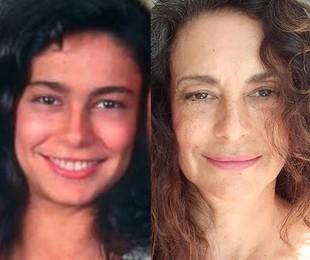Giovanna Gold em 'Pantanal' e atualmente | Divulgação - Reprodução/Instagram