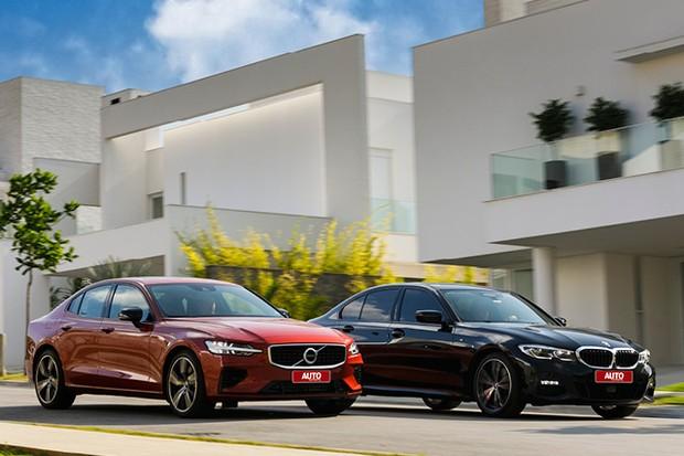 Comparativo: Volvo S60 T8 R-Design e  BMW 330i M Sport (Foto: Chris Castanho)