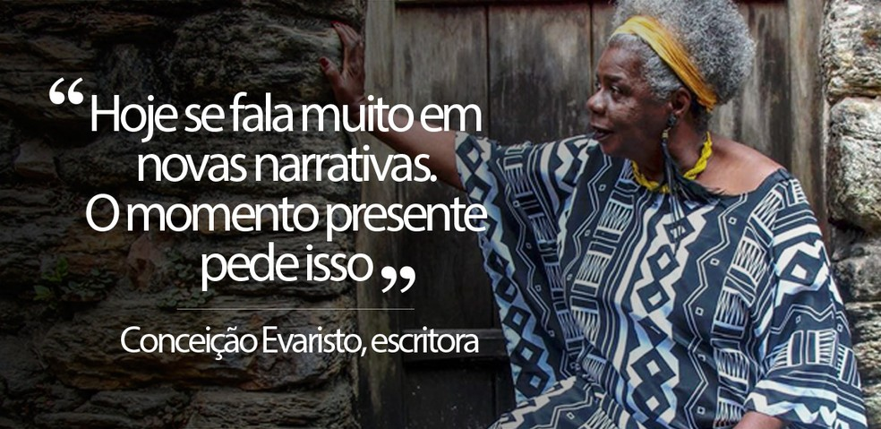 selo frase Conceição Evaristo — Foto: Divulgação/Flip