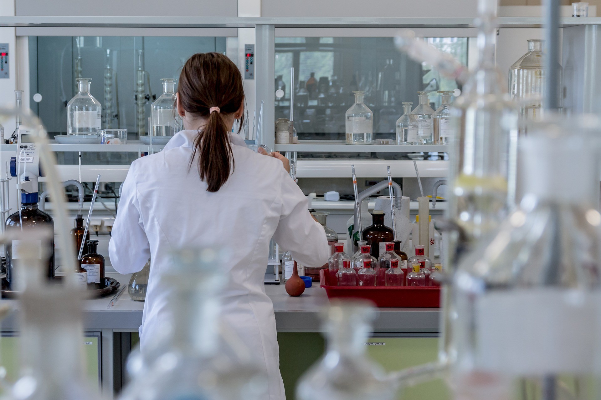 Laboratório (Foto: Pixabay)