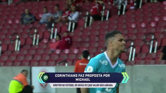 Corinthians se reúne nesta terça com agentes de Michael, do Goiás; Tiago Nunes liga para o atacante
