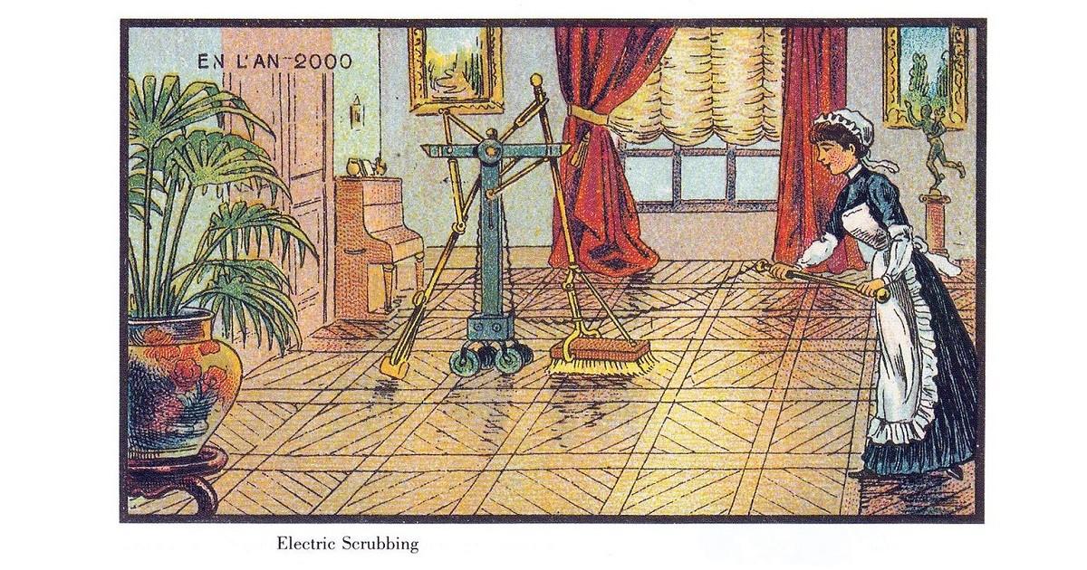 Imagem francesa do séc. XIX revela o antigo desejo do ajudante autônomo (Foto: Jean-Marc Côte/Wikipedia)