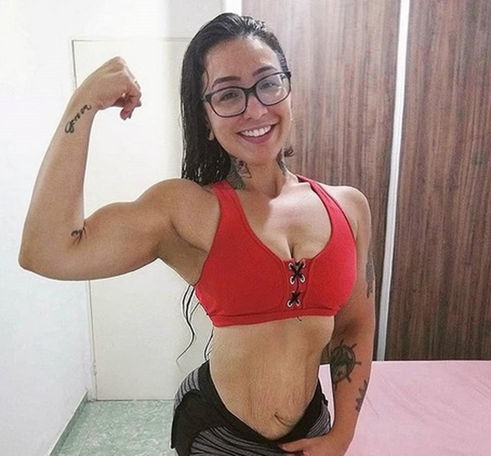 Miriellen vai realizar uma cirurgia para retirada da pele da barriga em Rio Preto — Foto: Reprodução/Instagram