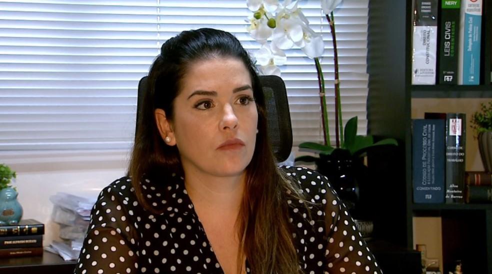 A advogada Inês Bittencourt Dias da Fonseca é cunhada do empresário atropelado e morto pela mulher — Foto: Fabio Junior/EPTV
