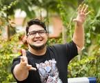 André, em foto tirada na sua despedida do Video show   João Miguel Júnior/ TV Globo