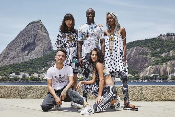 Nova coleção da Farm com a Adidas (Foto: Divulgação)